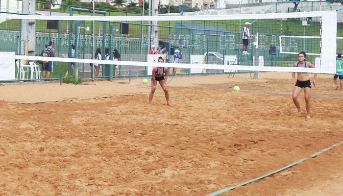 Quadra de areia na Vila Olímpica